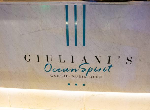 Giuliani's Ocean Spirit